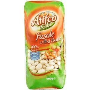 Atifco Foods Fasole Alba Boabe White Beans 900g