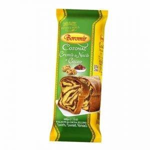 Boromir Cozonac with Walnut and Cocoa Cream 400g
