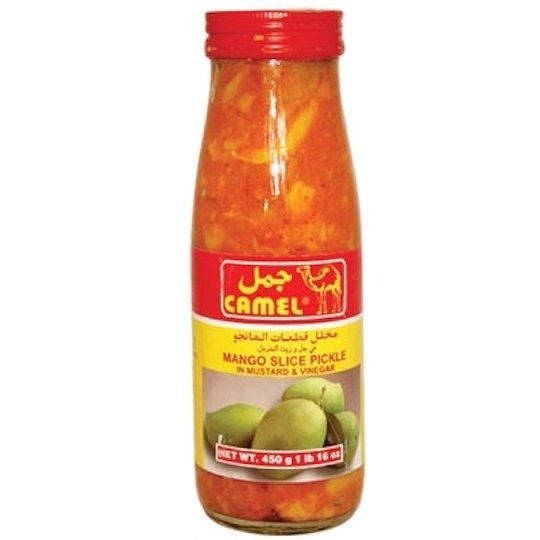 Camel Mango Slice Pickle in Mustard & Vinegar