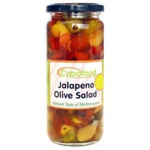 Jalapeno Olive Salad Jar