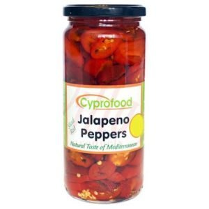 Sliced Red Jalapeno Peppers