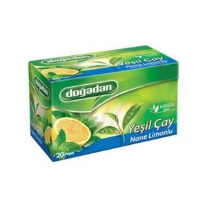 Dogadan Green Tea Mint Lemon