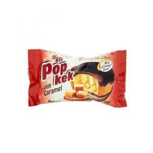 Eti Popkek with caramel