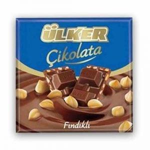 Ulker Milk Chocolate with Hazelnuts