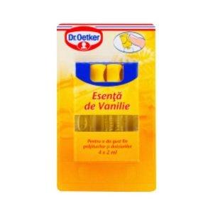 Dr Oetker Essence Vanilla Bottles 4x2ml