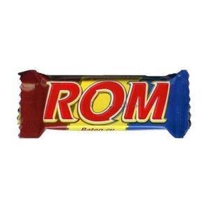 Rom Autentic Chocolate with Rom Cream 30g