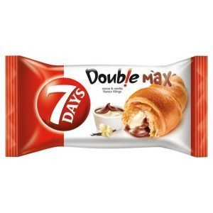 7 Days Double Max Croissant With Cocoa & Vanilla 80G