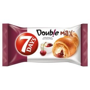 7 Days Double Max Croissant With Vanilla & Cherry 80G
