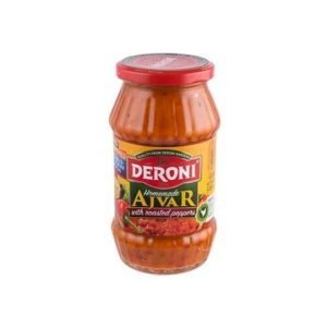 Deroni Homemade Ajvar with Grillied Peppers 510g