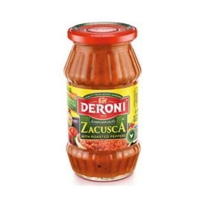 Deroni Homemade Zacusca with Roasted Peppers 500g