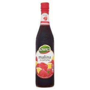Lowicz Malina - Raspberry & Lemon Syrup 400Ml