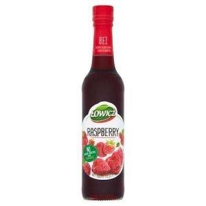Lowicz Lipy - Raspberry Flavour Drink 400ml