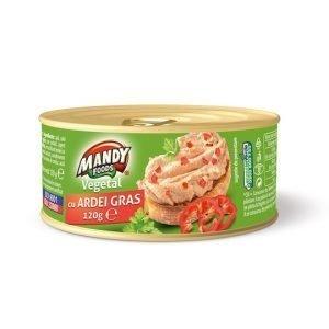 Mandy Pate Vegetal Ardei gras 120g