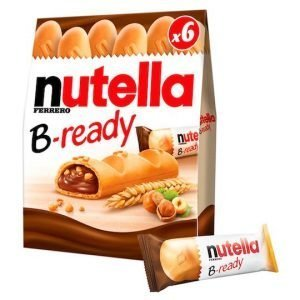 Nutella B-Ready Cereal Bar 6x22g