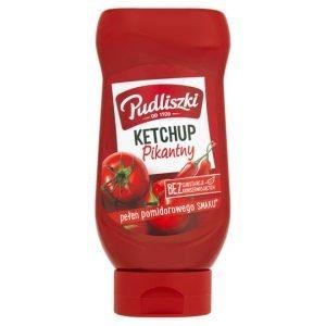 Pudliszki Hot Tomato Ketchup 480G