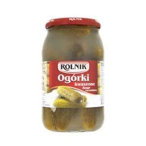 Rolnik Sour Cucumbers 900g