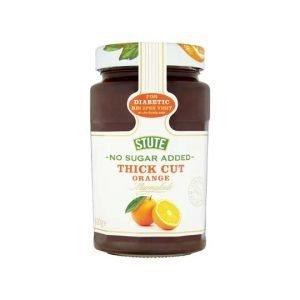 Stute No Added Sugar Diabetic Thick Cut Orange Marmalade 430g