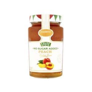 Stute No Sugar Added Diabetic Peach Jam 430g