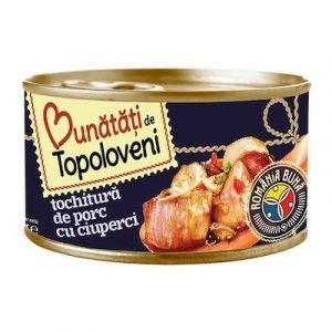 Bunatati de Topoloveni Tochitura Porc Ciuperci 400g