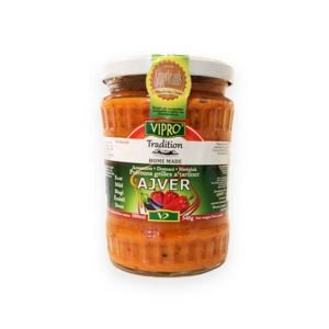 Vipro Homemade Mild Ajvar 580ml