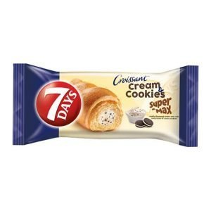 7 Days Super Max Croissant With Cream & Cookies 80G