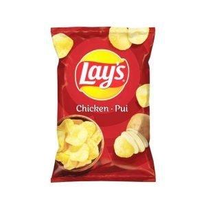 Lay's Chicken Flavoured Crisps 140g