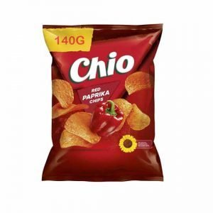 Chio Red Paprika Flavoured Chips 140g