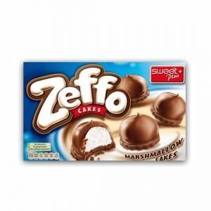 Sweet Plus Zeffo Marshmallow Cakes with Cocoa Milk Coating 150g