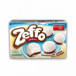 Sweet Plus Zeffo Marshmallow Cakes with Coconut 115g