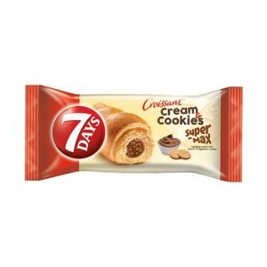 7 Days Max Croissant With Hazelnut Cream & Digestive Cookies Filling 80G