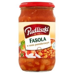 Pudliszki Fasola 620g