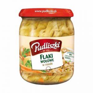 Pudliszki Flaki with Beef Tripe in Broth 500g