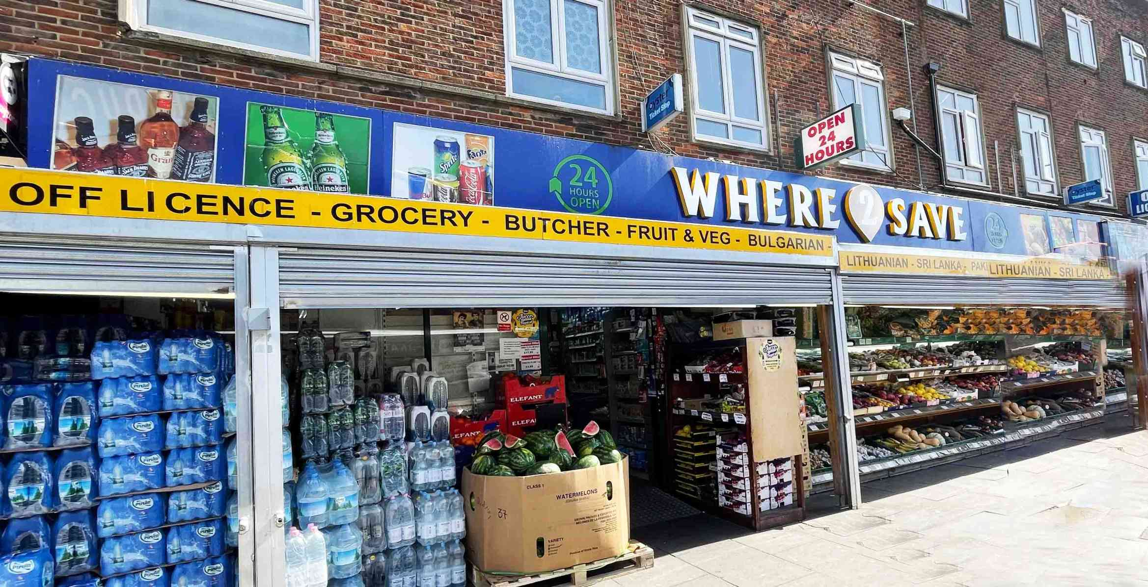 where 2 save shop front