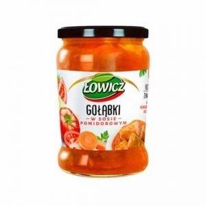 Gołąbki w sosie pomidorowym 580g ŁOWICZ