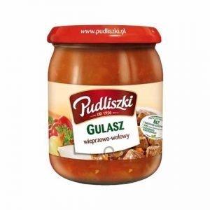 Pudliszki Gulasz Pork & Beef Goulash 500g