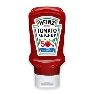 Heinz Tomato Ketchup 50% Less Sugar & Salt 435g