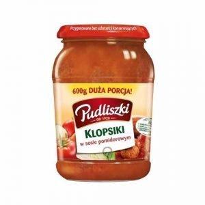Pudliszki Klopsiki Pork Meatballs in Tomato Sauce 500g