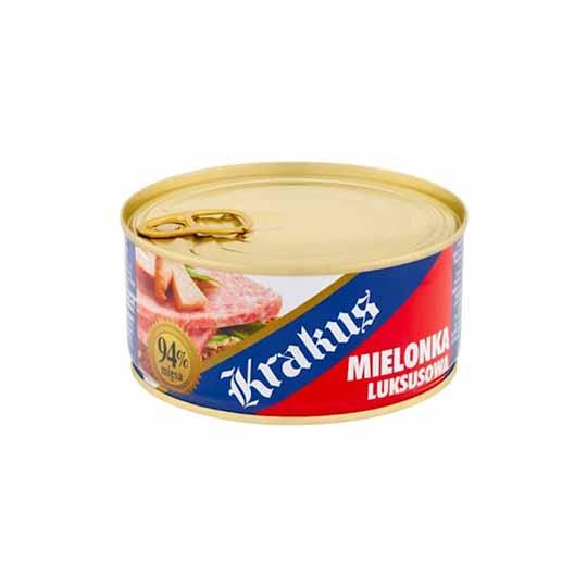 Krakus Mielonka Luksusowa - Canned Pork Meat 300g