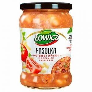 Lowicz Fasolka Baked Beans 580g