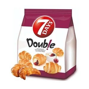 7 Days Mini Double Croissant with Vanilla & Cherry 185g