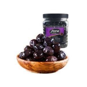 Fora Natural Black Olives Box 700g