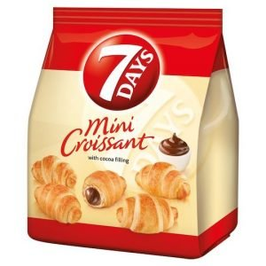 7 Days Mini Double Croissant with Cocoa