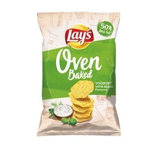 Lay's Oven Baked Yogurt with Herbs Flavoured Crisps 125g