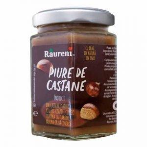 Raureni Piure de Castane - Chestnut Butter Sweetened 220g