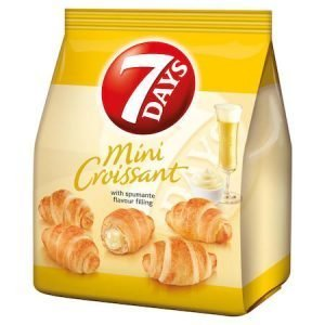 7 Days Mini Croissant with Spumante Cream Filling 185g