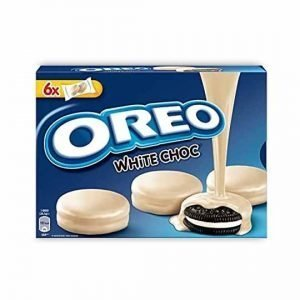 Oreo White Chocolate Covered Cookies 246g