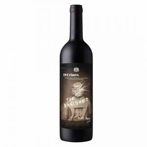 """19 Crimes """"The Banished"""" Dark Red 75cl"""