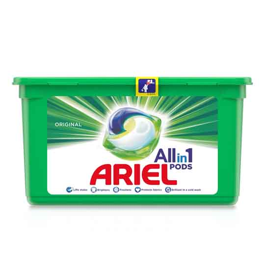 Ariel Original All-in-1 Pods Washing Tablets 12 Pods