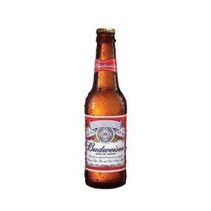 Budweiser Lager Beer Bottles 300ml