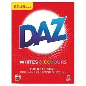 Daz Washing Powder Whites & Colours 10 Washes